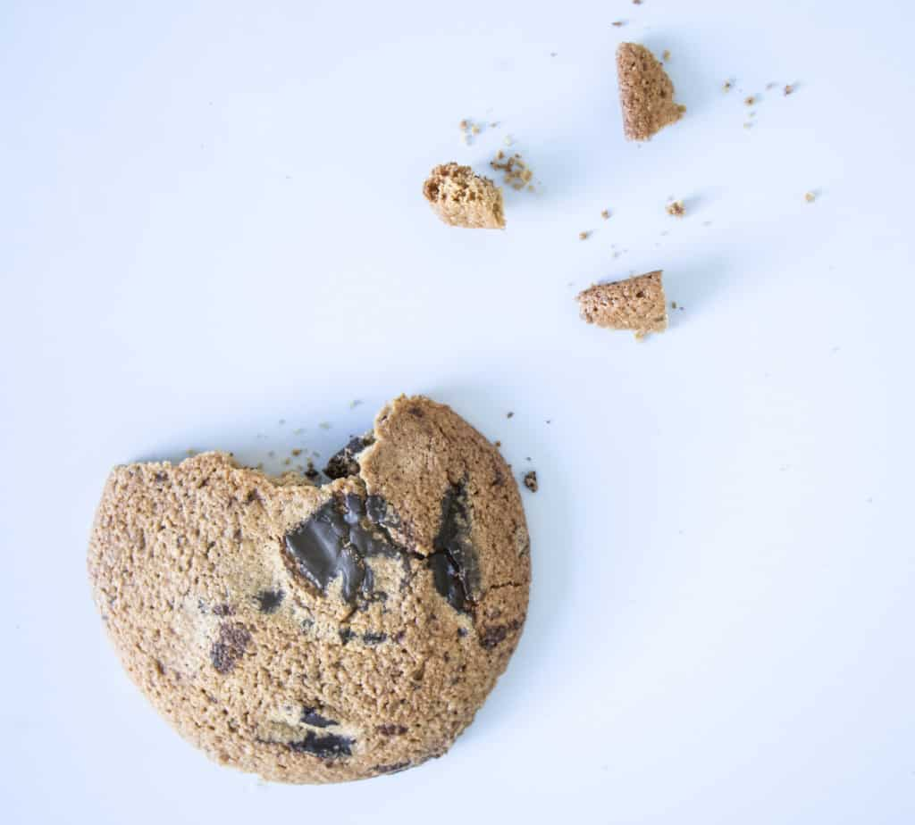 Healthy Chunky Choc Cookies