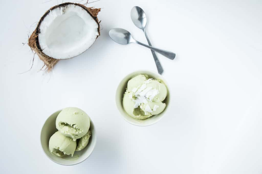 Dairy Free Avocado Ice Cream