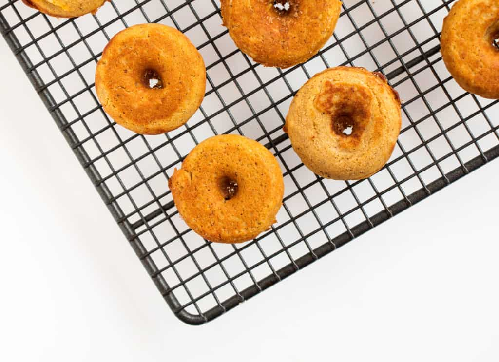 Gluten free, Cinnamon Pumpkin Donuts
