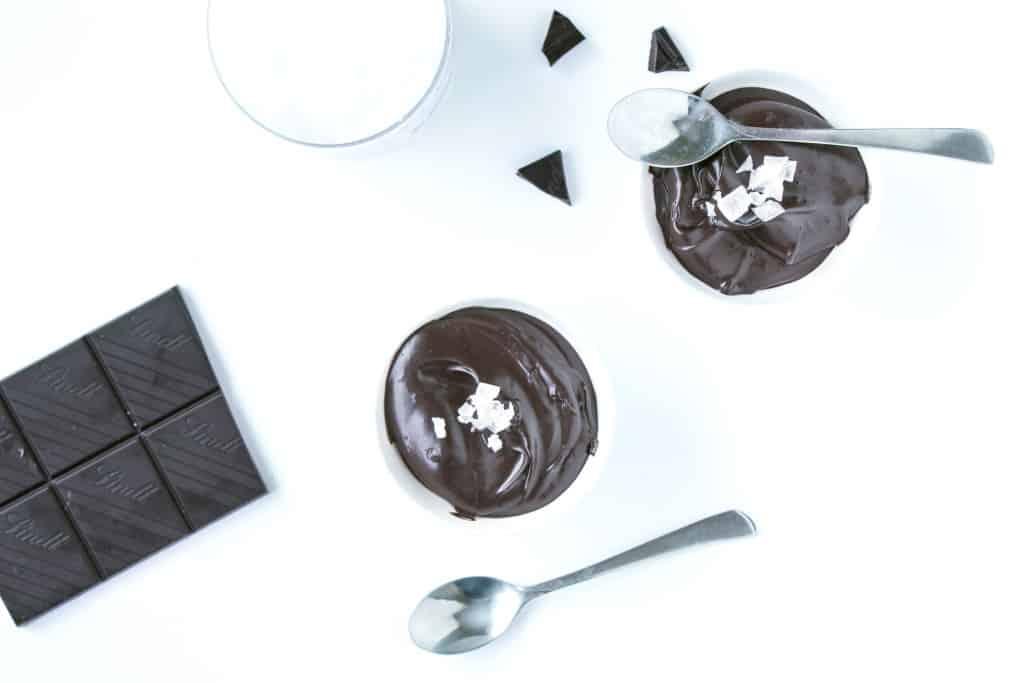 Vegan Avocado sugar free chocolate mousse
