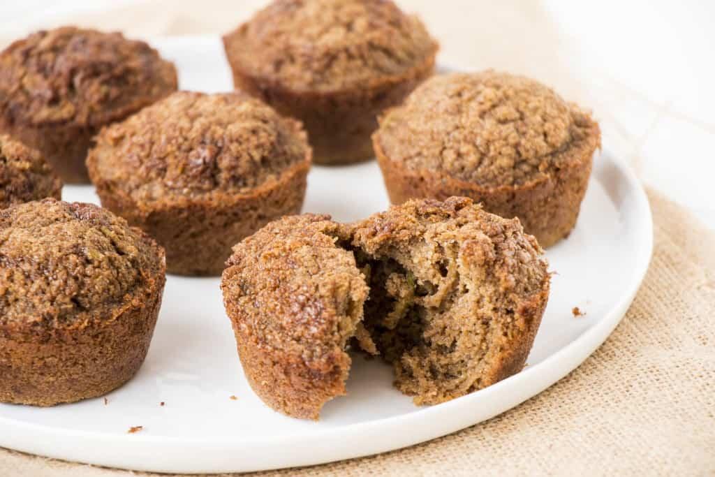 Healthy Apple & Cinnamon Muffins