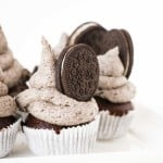 Double Chocolate Oreo Cupcake