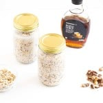 Maple & Walnut Overnight Oats