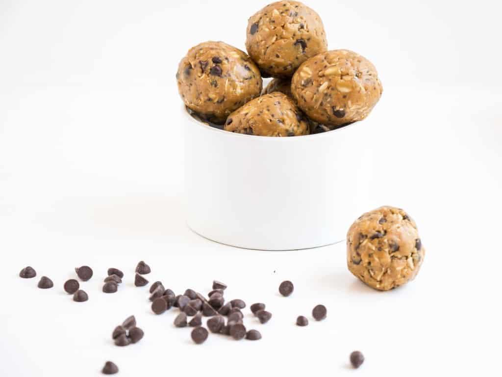 Peanut Butter Choc Chip Energy Balls