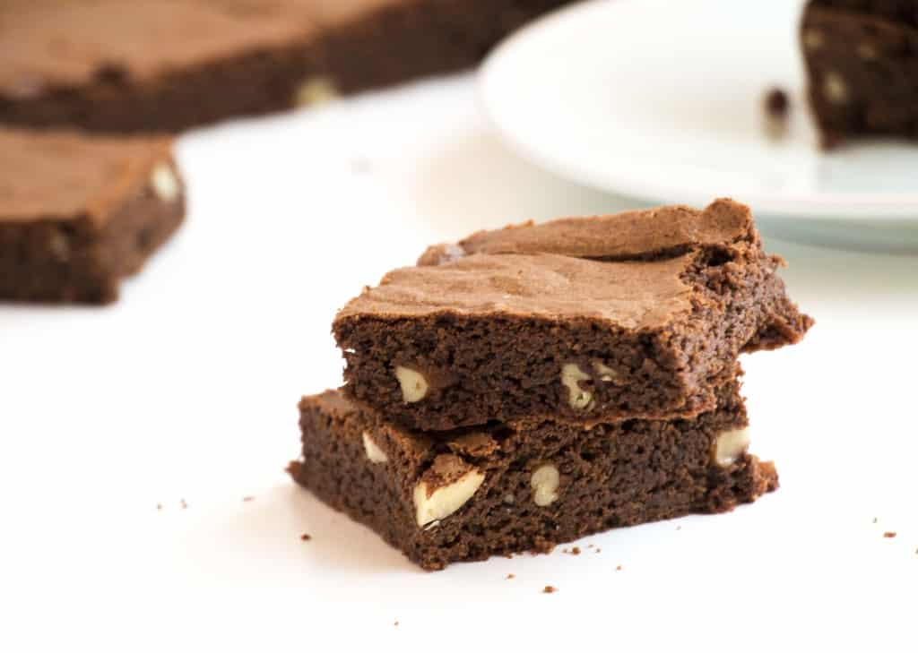 Chewy Chocolate Pecan Brownies