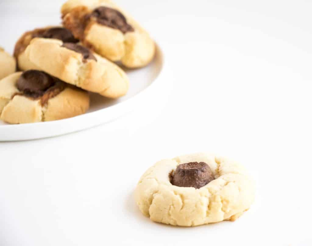Chewy Rolo Sugar Cookies