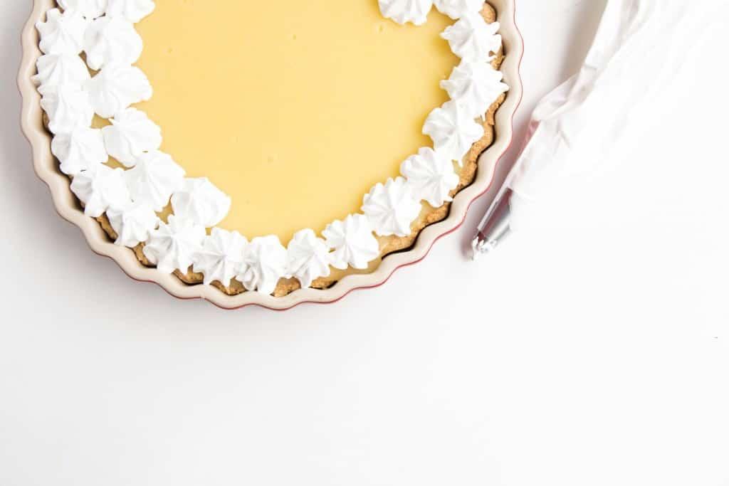 Zesty Lemon Meringue, easy, quick, delicious