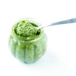 Homemade Coriander Pesto - A delicious and refreshing pesto recipe that is easy to make and is a perfect alternative to basil pesto.