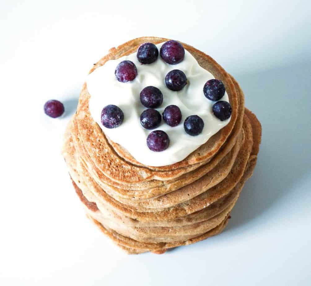 Power Oat Pancakes are the perfect way to start every day. They are vegan, gluten free and packed with energy boosting goodness.
