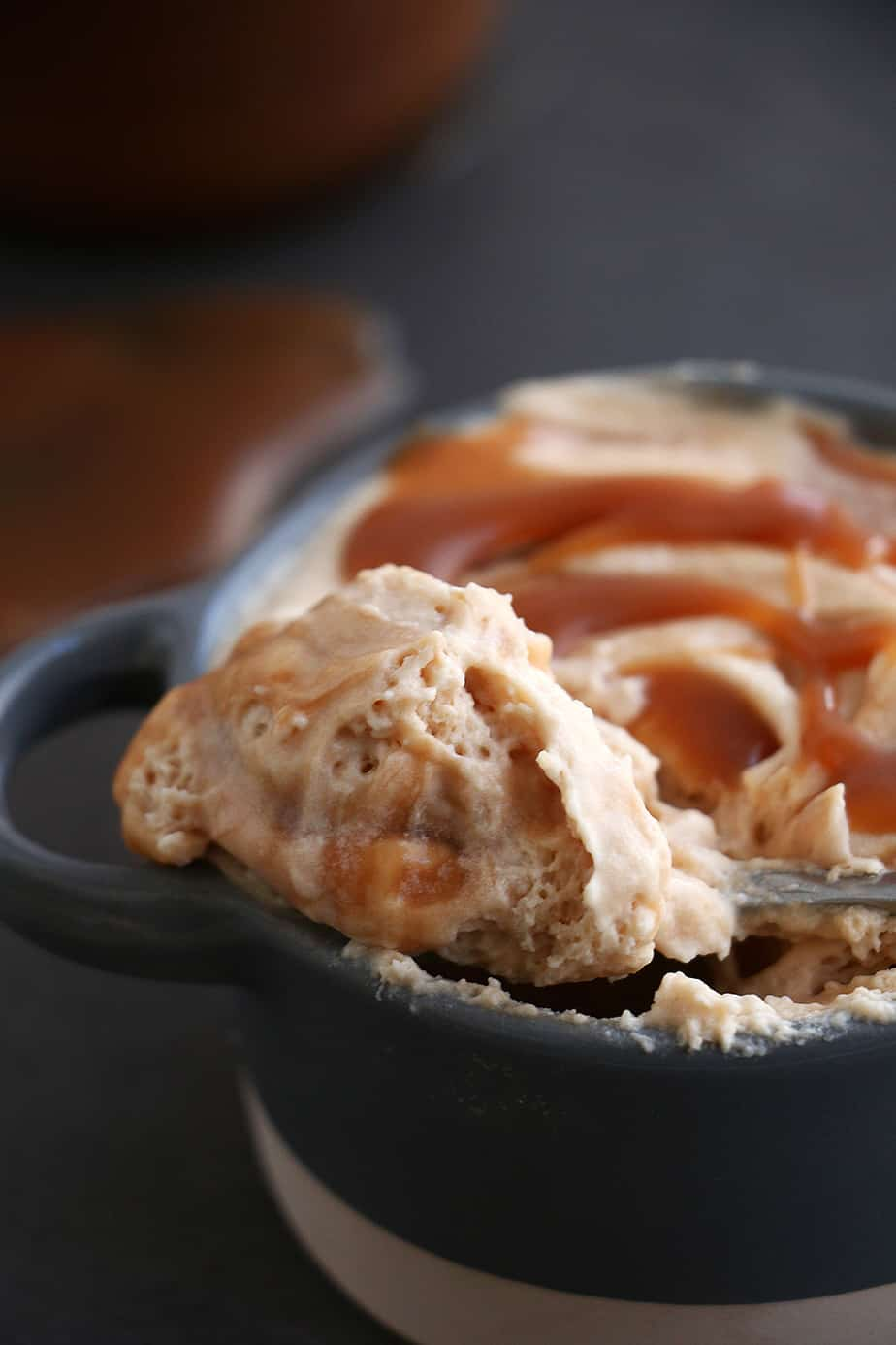 Creamy Salted Caramel Mousse – A combination of creamy, salty, fluffy and sweet. The perfect dessert for any occasion.