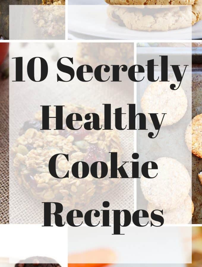 These 10 Secretly Healthy Cookie Recipes are everything you could ever want from a cookie. Indulgent and delicious but without the guilt. A mixture of vegan, gluten-free and refined sugar-free recipes.