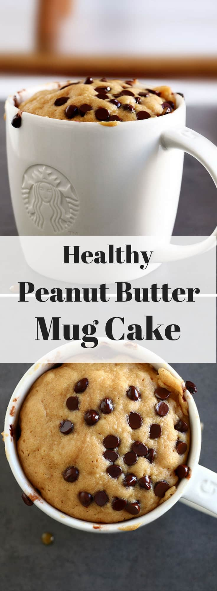This Healthy Peanut Er Mug Cake Is Scrumptiously Delicious And Can Be Whipped Up In 3min